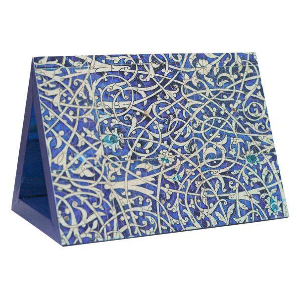 جاکتابی چوبی نشانک طرح ایرانی