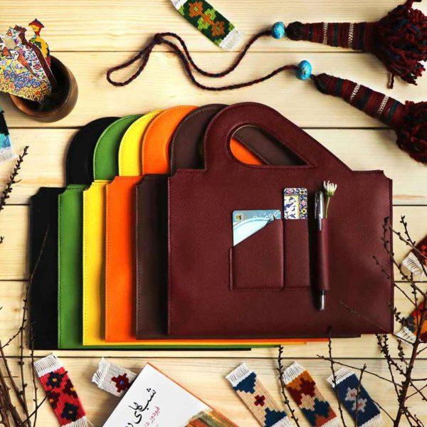 کتاب جای نشانک کیف حمل کتابها