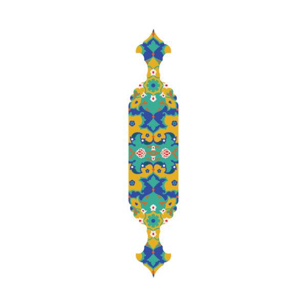 نشانک ویژه چوبی طرح اسلیمی