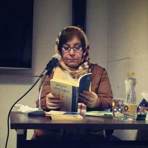 درباره فرشته ساری نوسنده ایرانی